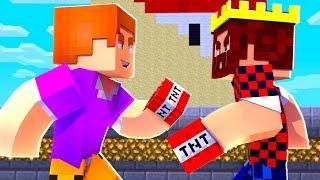 Minecraft - Битва в TNT Run Поззи против Аида В ТНТ РАНЕ