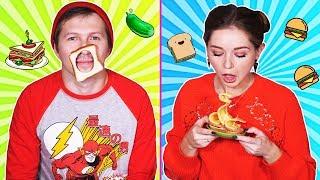 Идеи смешных бутербродов Фудхаки с Эльфиком - Afinka