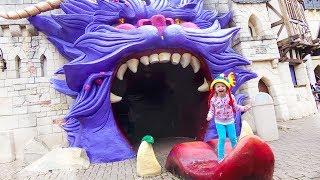 Детские площадки и парки для детей с Настей