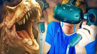 Мир Динозавров - ЧУТЬ НЕ ОПИСАЛСЯ ОТ СТРАХА  VR