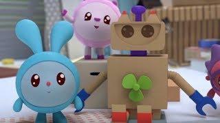Малышарики - Изобретатели  - серия 132 - части тела