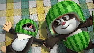 Мультики для детей - Кротик и Панда - Большой арбуз + Спорт в лесу - Новые мультфильмы 2017