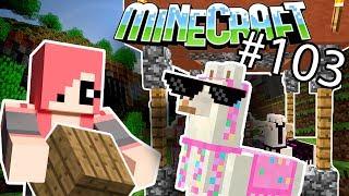 Minecraft - НОВЫЙ ДОМИК ДЛЯ ЛАМ  КАК СДЕЛАТЬ (Серия 103)