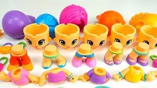 Игрушки Пинипон, распаковываем игровые наборы для детей