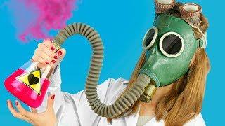 10 смешных пранков в лаборатории