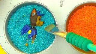 Щенячий Патруль учим цвета и игрушки из мультиков