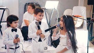 Дети спели на свадьбу сестры, до слёз!