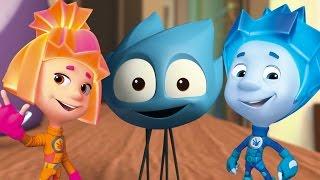 Фиксики - Паучок  - cartoon for kids