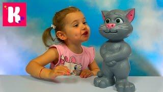 Кот Том говорящая интерактивная игрушка из компьютерной игры Tom Cat funny toy