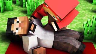 ДЕВУШКА СПАСАЕТ ПАРНЯ - Minecraft с Девушкой #3