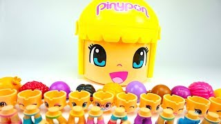 Игрушки Пинипон, распаковываем игровои набор для детеи