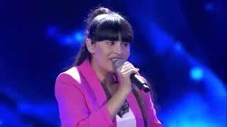 Диана Анкудинова - почетный гость Бала дауысы - 2019, финал IV сезона. Алматы