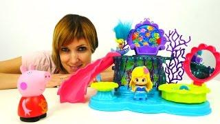 Пеппа, Тролли и игрушки из мультфильмов. Детский Сад с Машей