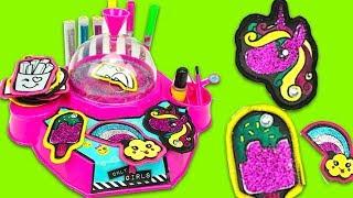 Игровой набор для детского рукоделия, украшаем наклейки