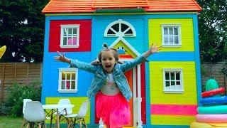 8 000 000 РАЗЫГРАЛИ КАТЮ и ставим мебель в 2 этажный домик для детей