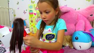 У Вики день рождения! Распаковка Куклы Барби