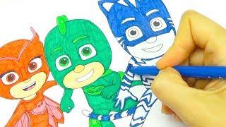 Герои в Масках распаковываем игровой набор для детей