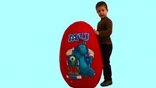 Giant Monster University Университет Монстров огромное яйцо игрушки университет Монстров на русском