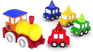 День рождения у 4 машинок - игрушечная железная дорога