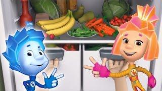 Фиксики - Витамины  Познавательный мультик для детей
