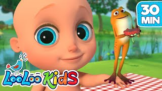 The Little Green Frog, Five Little Ducks + More Nursery Rhymes from LooLoo KIDS