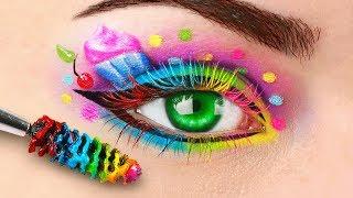 5 самых нереальных макияжей - Косметика в виде сладостей