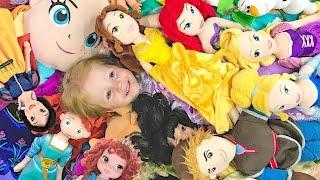 ОЧЕНЬ МНОГО ИГРУШЕК куклы Принцессы Диснея
