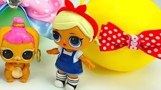 Распаковываем игровой набор для детей, играем с куклами ЛОЛ