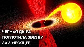 Черная дыра съела звезду, как спагетти. Вот что увидели астрономы